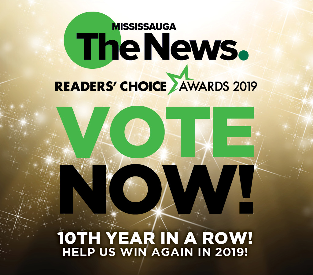 We're Finalists for Mississauga's Best Dental Office!