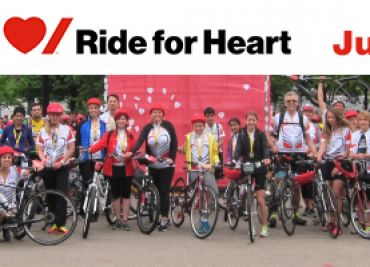 Ride for Heart 2018 – Get Into Shape and Support a Great Cause
