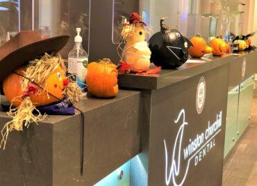 Staff Pumpkin Carving 2020