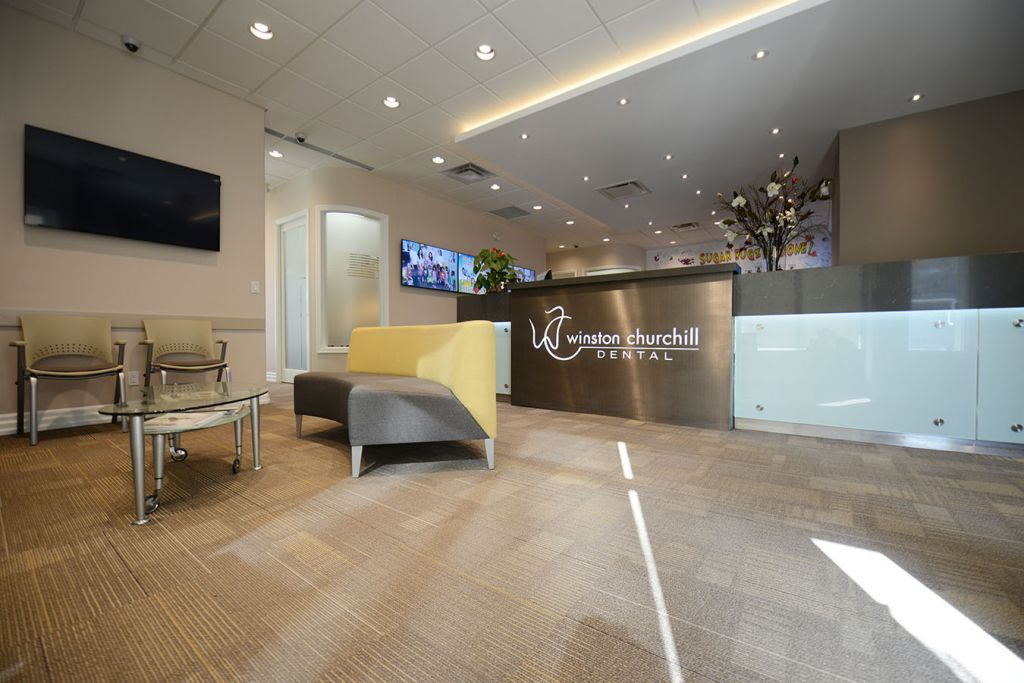 Mississauga Dentist Winston Churchill Dental lobby