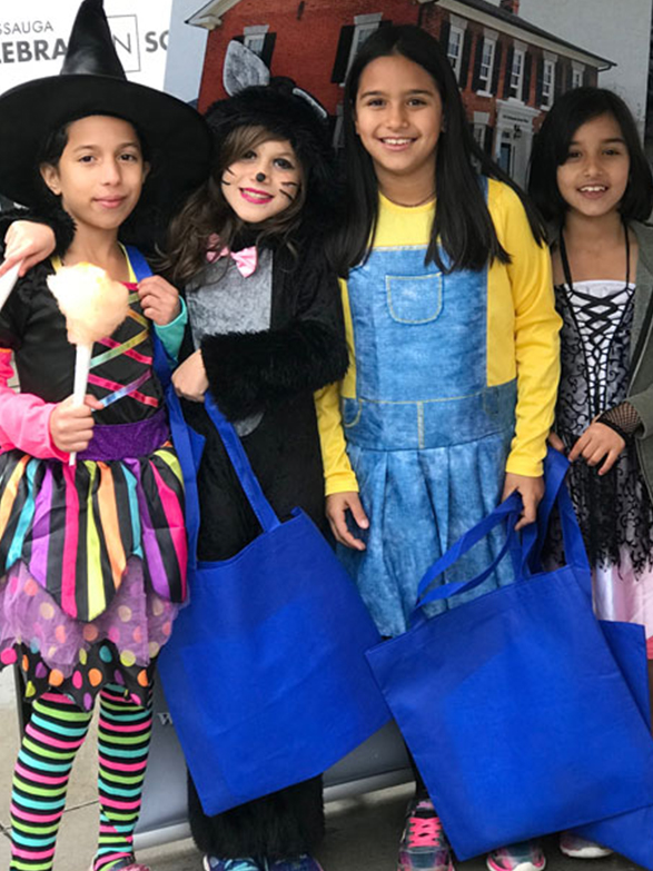 Monster mash children in costume