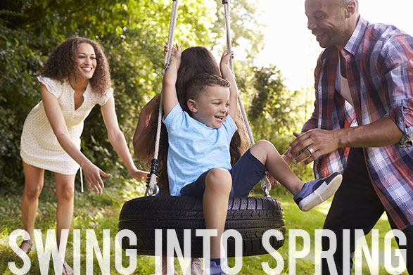 "Say ""Bye-Bye"" to Winter and Spring into Action!"